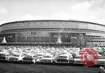 Image of Baseball World Series Milwaukee Wisconsin USA, 1957, second 4 stock footage video 65675042906
