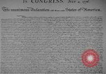 Image of Declaration of Independence Washington DC USA, 1936, second 4 stock footage video 65675042909