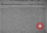 Image of Declaration of Independence Washington DC USA, 1936, second 5 stock footage video 65675042909