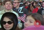 Image of Peace demonstrators march protesting Vietnam War Washington DC USA, 1969, second 10 stock footage video 65675042914