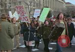 Image of Peace demonstrators protest Vietnam War Washington DC USA, 1969, second 9 stock footage video 65675042915