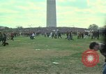Image of Peace activists march against Vietnam War Washington DC USA, 1969, second 8 stock footage video 65675042916
