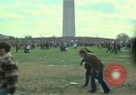 Image of Peace activists march against Vietnam War Washington DC USA, 1969, second 10 stock footage video 65675042916