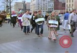 Image of Demonstration against Vietnam War Washington DC USA, 1969, second 3 stock footage video 65675042917