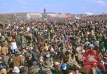 Image of Vietnam war pacifists march Washington DC USA, 1969, second 8 stock footage video 65675042920