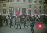 Image of pacifists march against Vietnam War Washington DC USA, 1969, second 2 stock footage video 65675042921