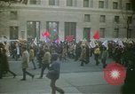 Image of pacifists march against Vietnam War Washington DC USA, 1969, second 3 stock footage video 65675042921