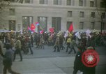Image of pacifists march against Vietnam War Washington DC USA, 1969, second 4 stock footage video 65675042921