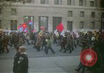 Image of pacifists march against Vietnam War Washington DC USA, 1969, second 6 stock footage video 65675042921