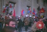 Image of pacifists march against Vietnam War Washington DC USA, 1969, second 11 stock footage video 65675042921