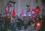 Image of pacifists march against Vietnam War Washington DC USA, 1969, second 12 stock footage video 65675042921
