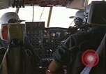 Image of Interior of Air Rescue HC-130H aircraft in flight Southeast Asia, 1966, second 8 stock footage video 65675042962