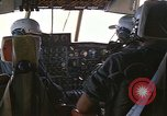Image of Interior of Air Rescue HC-130H aircraft in flight Southeast Asia, 1966, second 9 stock footage video 65675042962