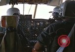 Image of Interior of Air Rescue HC-130H aircraft in flight Southeast Asia, 1966, second 10 stock footage video 65675042962