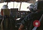 Image of Interior of Air Rescue HC-130H aircraft in flight Southeast Asia, 1966, second 12 stock footage video 65675042962