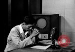Image of Japanese Station announcer Tokyo Japan, 1945, second 8 stock footage video 65675043008