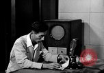 Image of Japanese Station announcer Tokyo Japan, 1945, second 10 stock footage video 65675043008