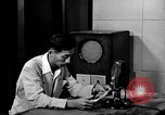 Image of Japanese Station announcer Tokyo Japan, 1945, second 11 stock footage video 65675043008