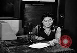 Image of Iva Toguri D'Aquino Tokyo Japan, 1945, second 4 stock footage video 65675043010
