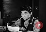 Image of Iva Toguri D'Aquino Tokyo Japan, 1945, second 4 stock footage video 65675043011