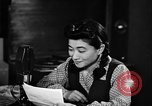Image of Iva Toguri D'Aquino Tokyo Japan, 1945, second 7 stock footage video 65675043011