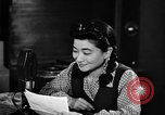 Image of Iva Toguri D'Aquino Tokyo Japan, 1945, second 9 stock footage video 65675043011
