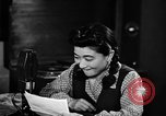 Image of Iva Toguri D'Aquino Tokyo Japan, 1945, second 12 stock footage video 65675043011
