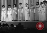 Image of Beauty pageant Atlantic City New Jersey USA, 1967, second 4 stock footage video 65675043037