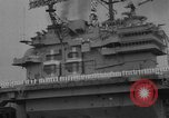 Image of Aircraft carrier Forrestal Norfolk Virginia USA, 1967, second 9 stock footage video 65675043044