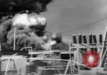 Image of Oil company warehouse under fire San Juan Puerto Rico, 1967, second 6 stock footage video 65675043046