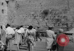 Image of Jewish New Year at Western Wall Jerusalem Israel, 1967, second 7 stock footage video 65675043048