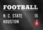Image of Football match Houston Texas USA, 1967, second 1 stock footage video 65675043052