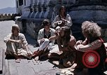 Image of Group of Hippies in Nepal Kathmandu Nepal, 1969, second 2 stock footage video 65675043057