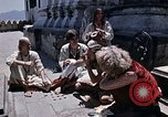 Image of Group of Hippies in Nepal Kathmandu Nepal, 1969, second 4 stock footage video 65675043057