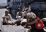 Image of Group of Hippies in Nepal Kathmandu Nepal, 1969, second 7 stock footage video 65675043057