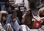 Image of Group of Hippies Kathmandu Nepal, 1969, second 2 stock footage video 65675043058