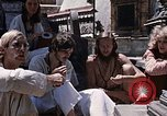 Image of Group of Hippies Kathmandu Nepal, 1969, second 4 stock footage video 65675043058