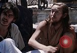 Image of Group of Hippies Kathmandu Nepal, 1969, second 6 stock footage video 65675043058