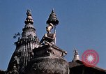 Image of Children in Patan Durbar Square Kathmandu Nepal, 1969, second 8 stock footage video 65675043062