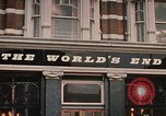 Image of World's End cafe London England United Kingdom, 1970, second 2 stock footage video 65675043077