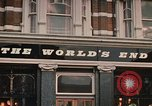 Image of World's End cafe London England United Kingdom, 1970, second 3 stock footage video 65675043077