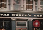 Image of World's End cafe London England United Kingdom, 1970, second 4 stock footage video 65675043077