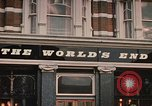 Image of World's End cafe London England United Kingdom, 1970, second 5 stock footage video 65675043077
