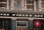 Image of World's End cafe London England United Kingdom, 1970, second 7 stock footage video 65675043077