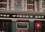 Image of World's End cafe London England United Kingdom, 1970, second 9 stock footage video 65675043077