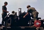 Image of 1st Air Cavalry Division South Vietnam Camp Evans, 1968, second 10 stock footage video 65675043122