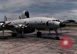 Image of EC-121 Aircraft Thailand Ubon Air Base, 1967, second 10 stock footage video 65675043148
