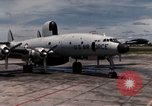 Image of EC-121 Aircraft Thailand Ubon Air Base, 1967, second 11 stock footage video 65675043148