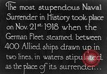 Image of Surrender of German fleet Europe, 1918, second 1 stock footage video 65675043160