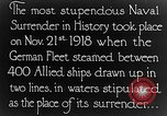 Image of Surrender of German fleet Europe, 1918, second 5 stock footage video 65675043160